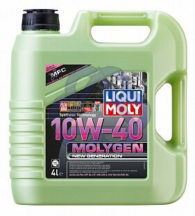 Масло 10W-40 4 л синт Molygen New Generation HC LIQUI MOLY  9060