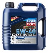 Масло 5W-40 4 л синт Optimal Synth HC- LIQUI MOLY  3926